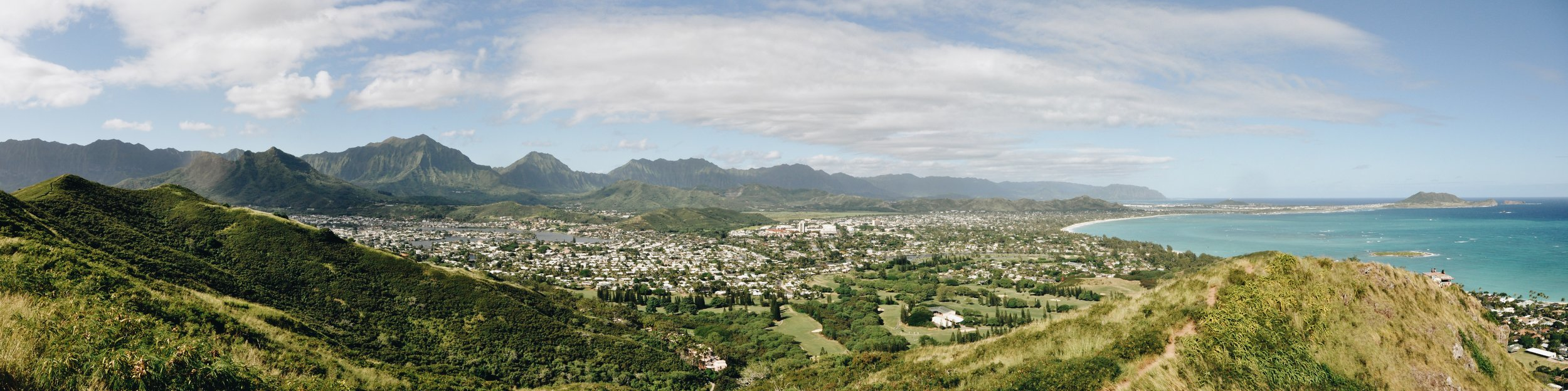 View from the Pillbox Hiking Trail. Photo by Steve Mair.