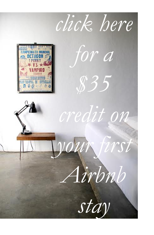 Airbnb $35 credit