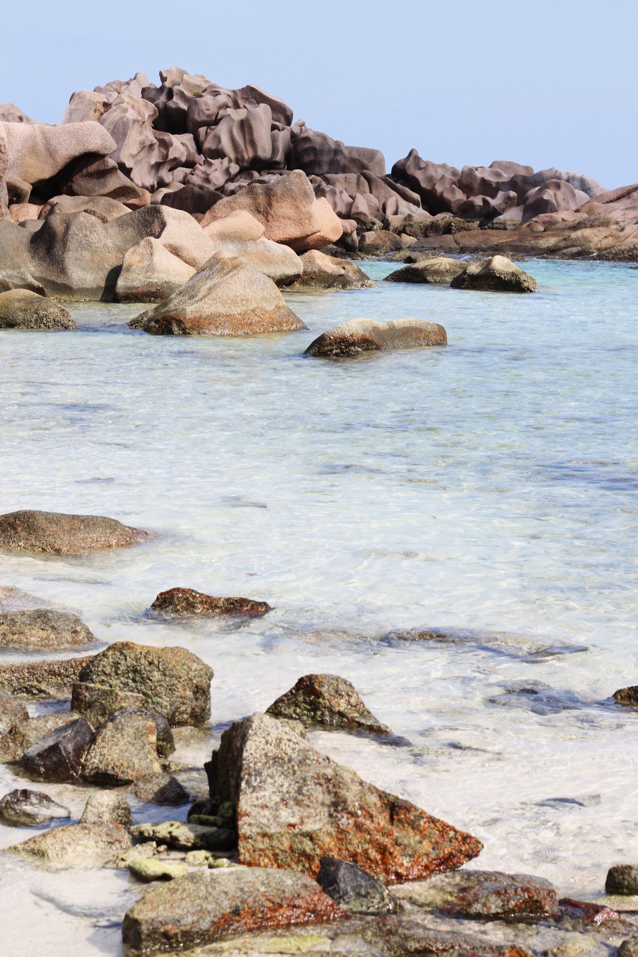 Anse Coco on La Digue, Seychelles