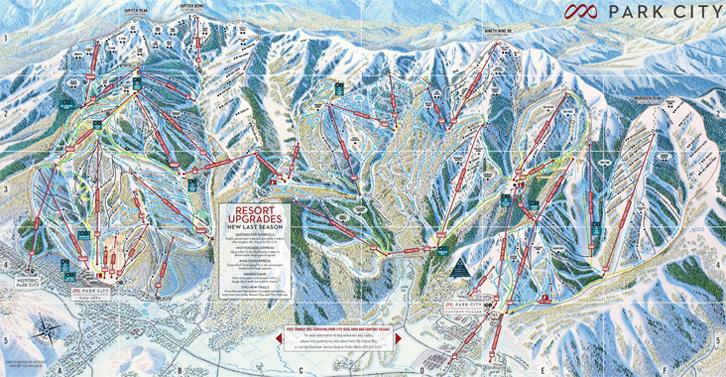 Park City Trail Map