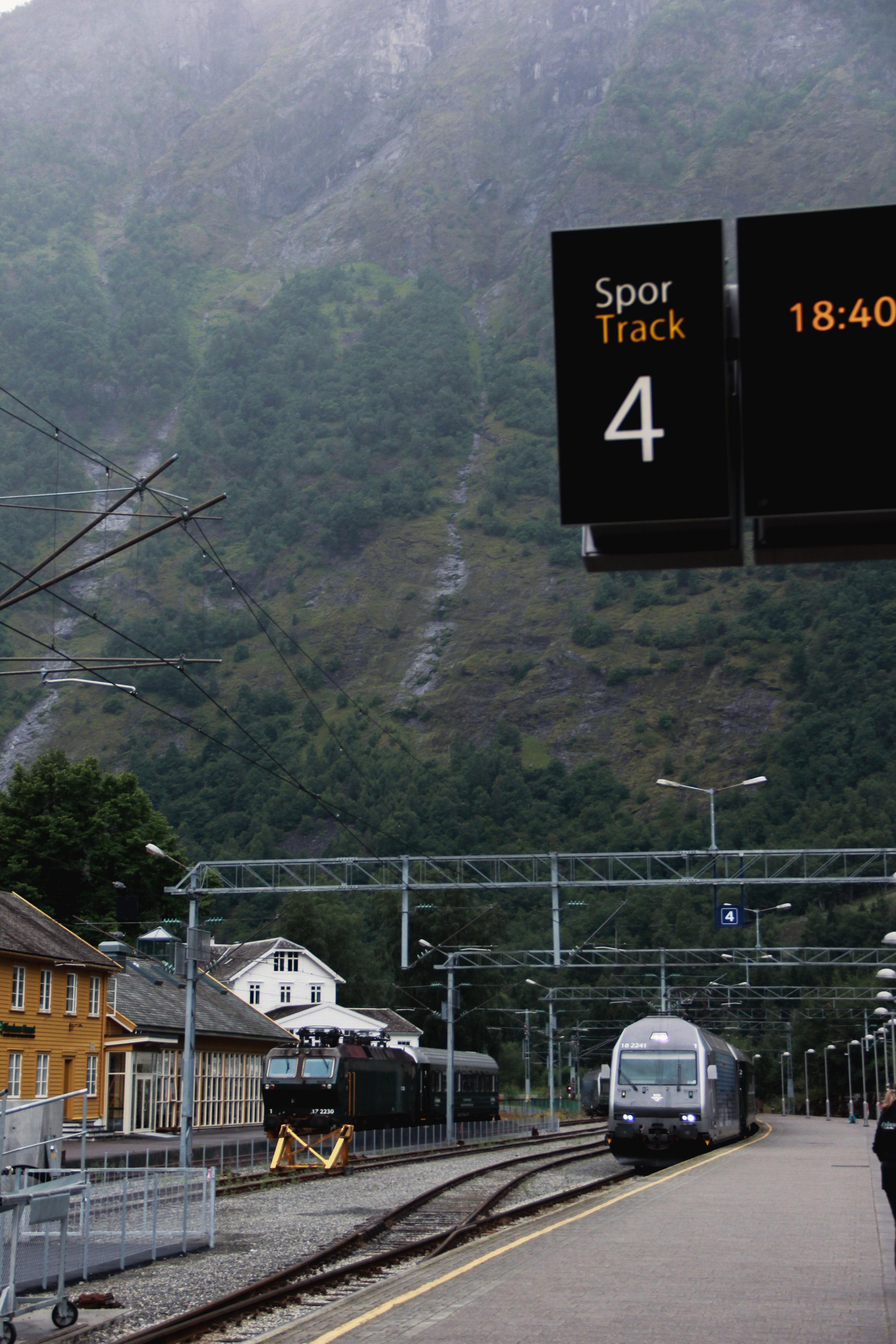 A stopover in Flam, Norway