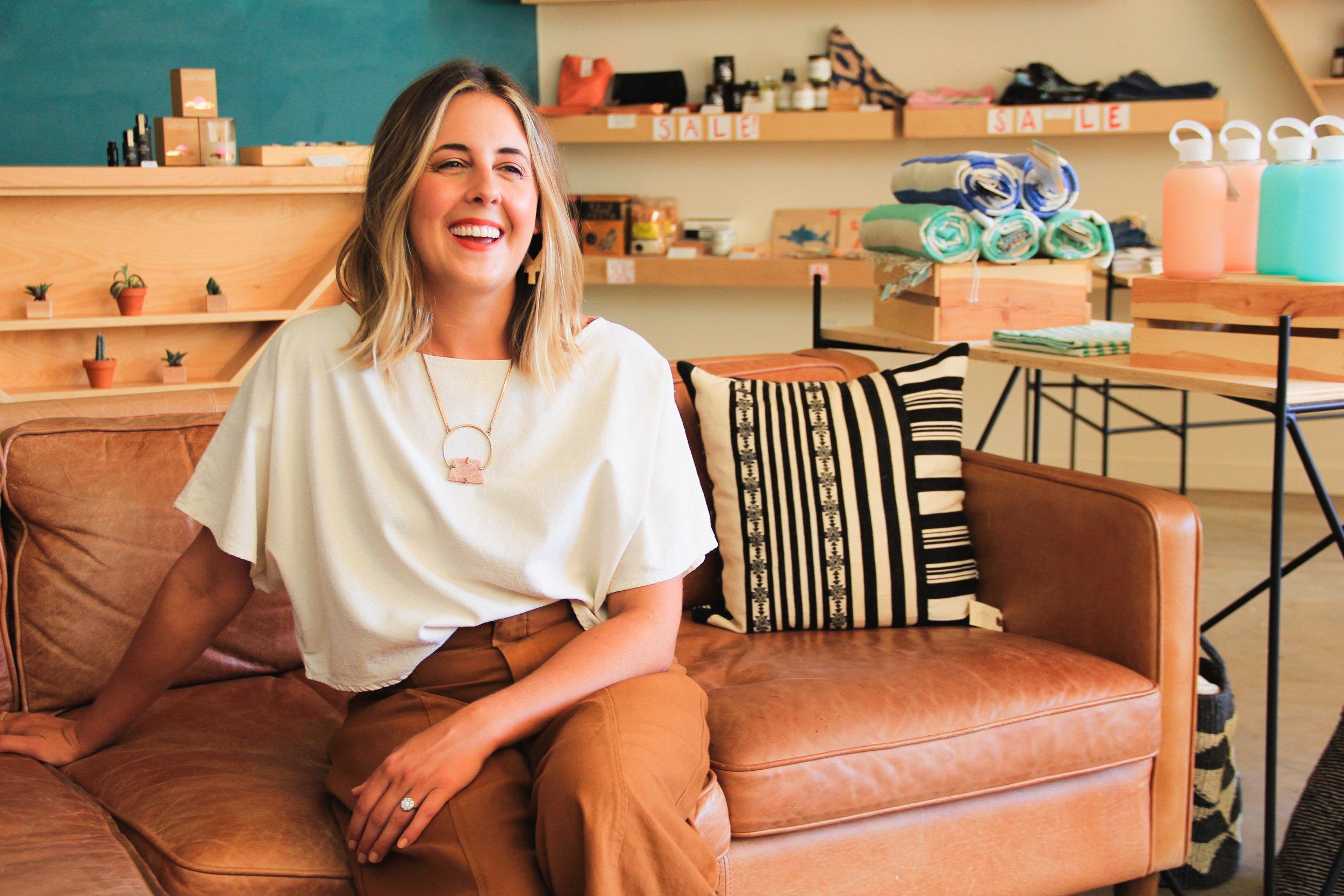 Lauren Danuser, owner of Local Nomad in Phoenix, AZ