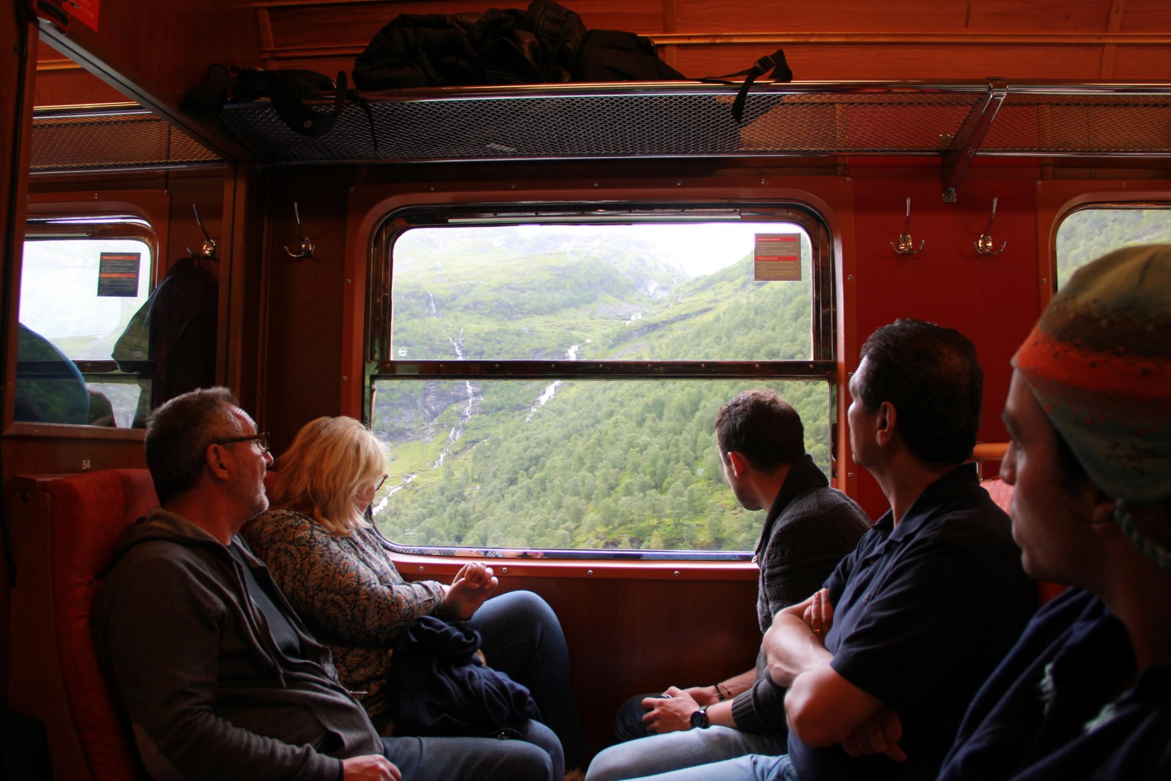 Myrdal to Flam Train