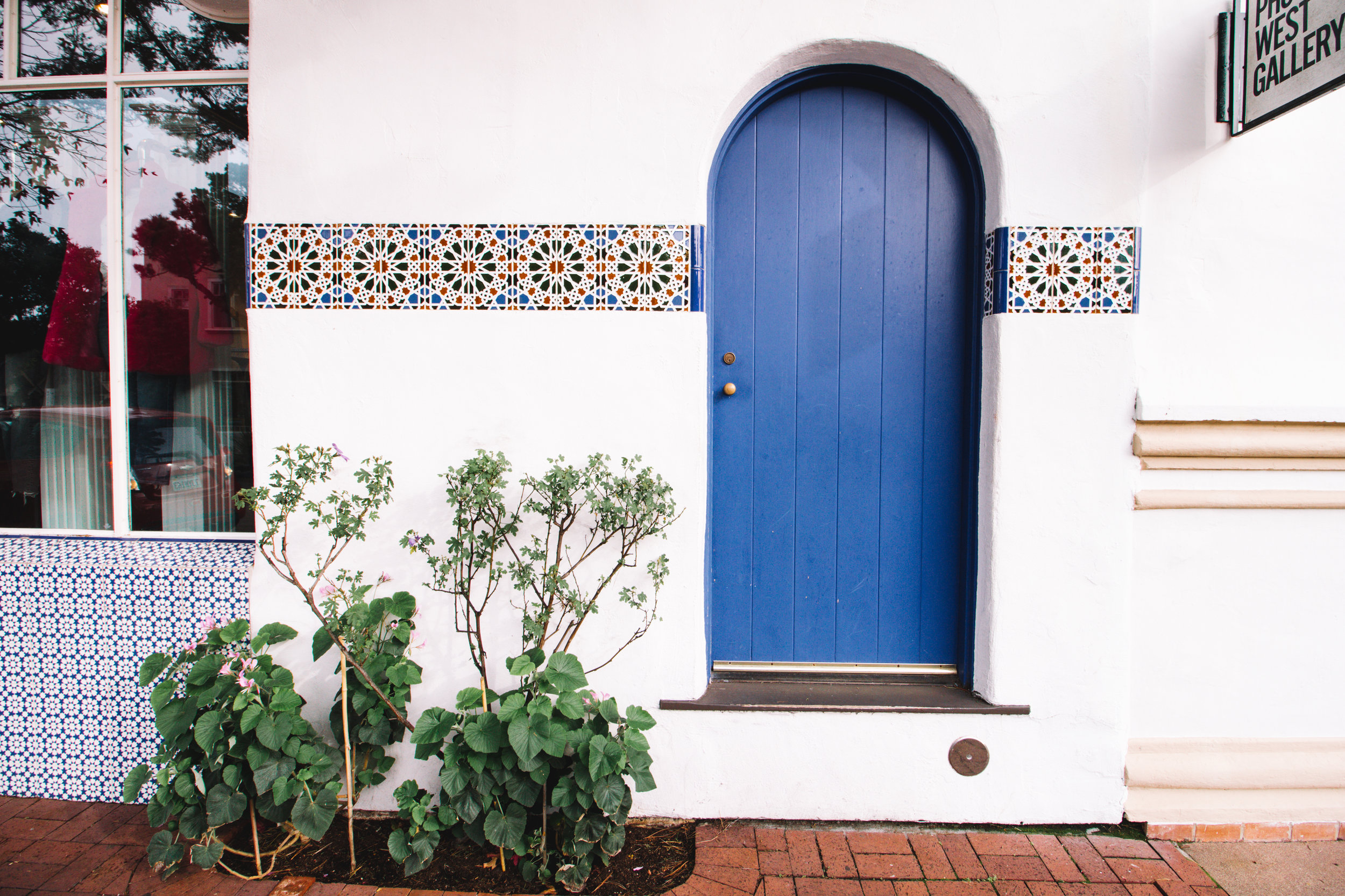 Blue Door in Carmel, CA | Beyond Ordinary Guides