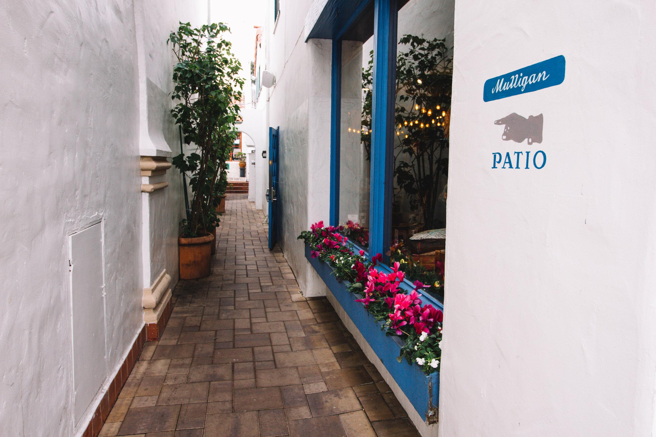 Charming Alley in Carmel, CA
