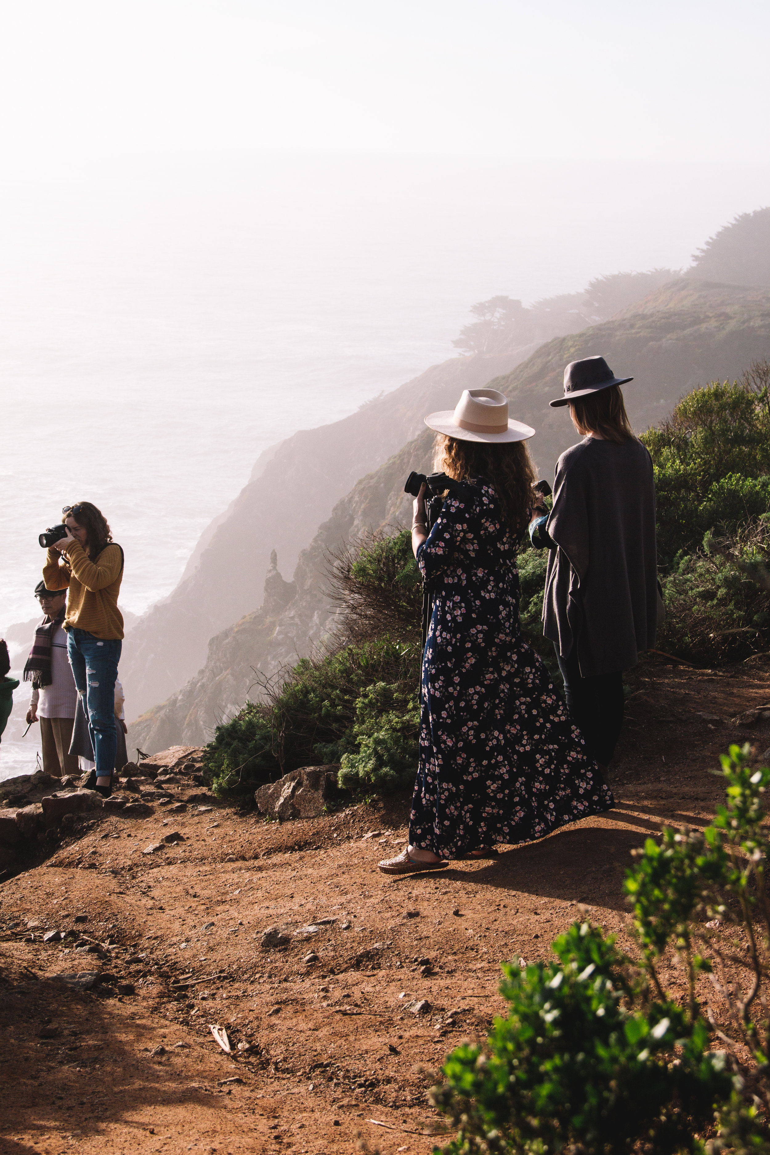 Her Travel Style at Bixby Bridge, CA