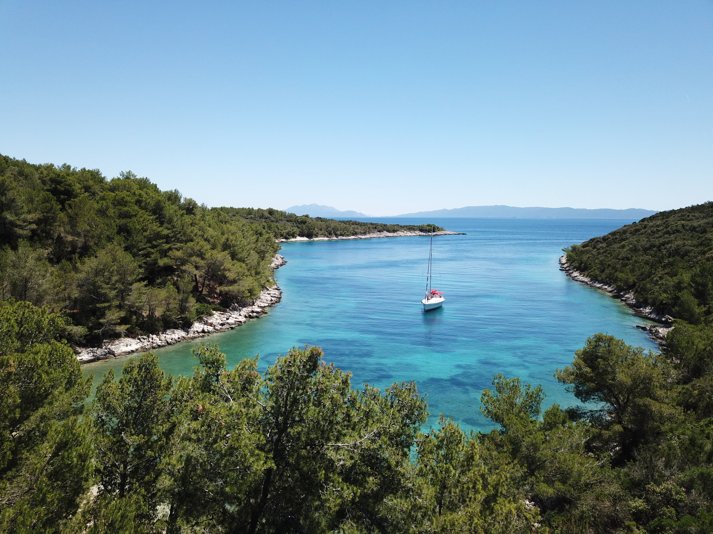An Afternoon in a Secluded Cove on Otok Šćedro | Croatia