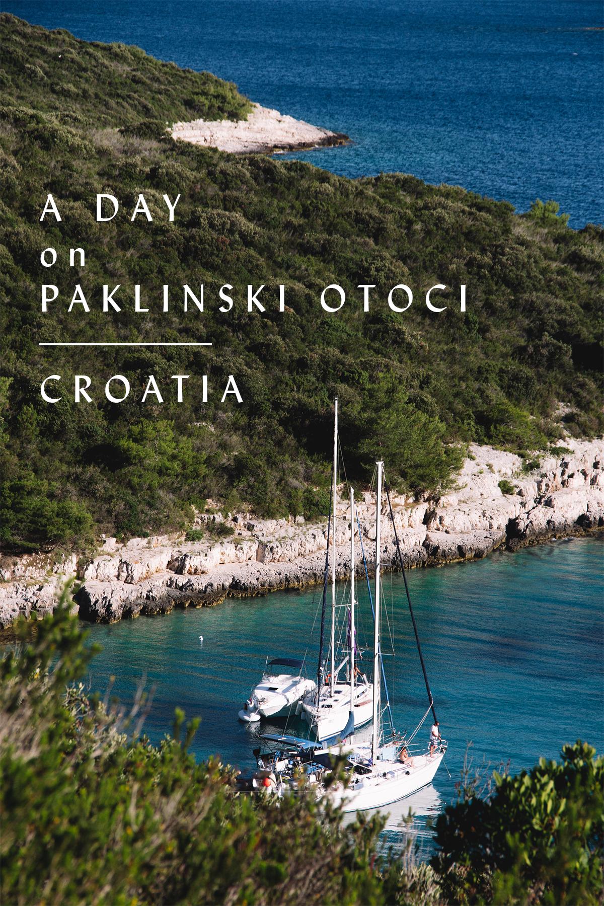 A Day on Paklinski Otoci