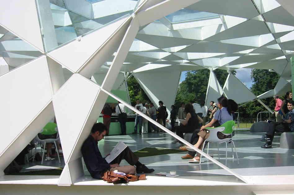 Balmond Serpentine Pavilion by Toyo Ito and Cecil Balmond - :pmdpm