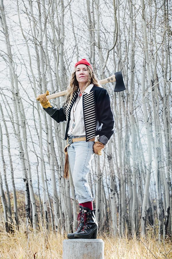 Flathead Living Magazine 2015 Winter Style Guide : Mandy Mohler (model : Margit Meriwether)