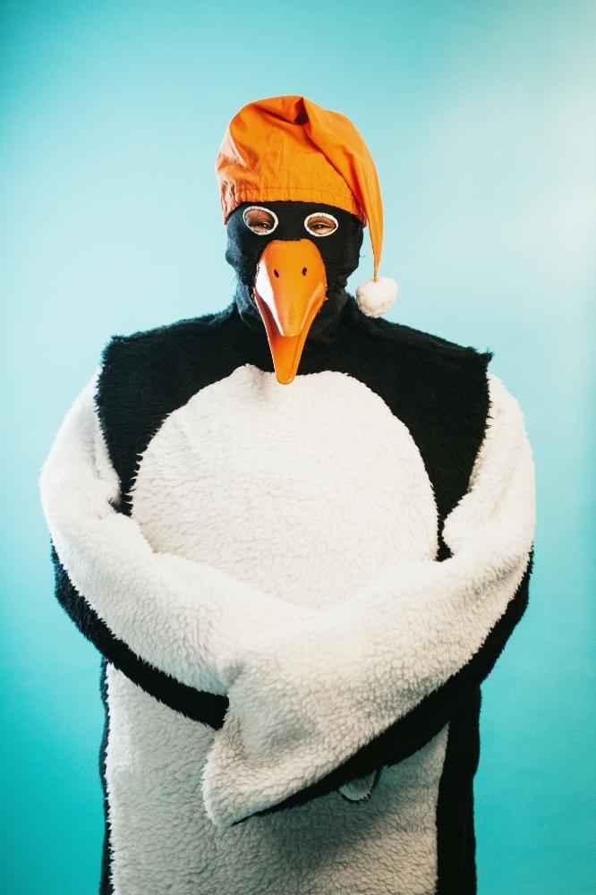 Whitefish Winter Carnival : Penguin by Mandy Mohler (model : Lani Johnson)