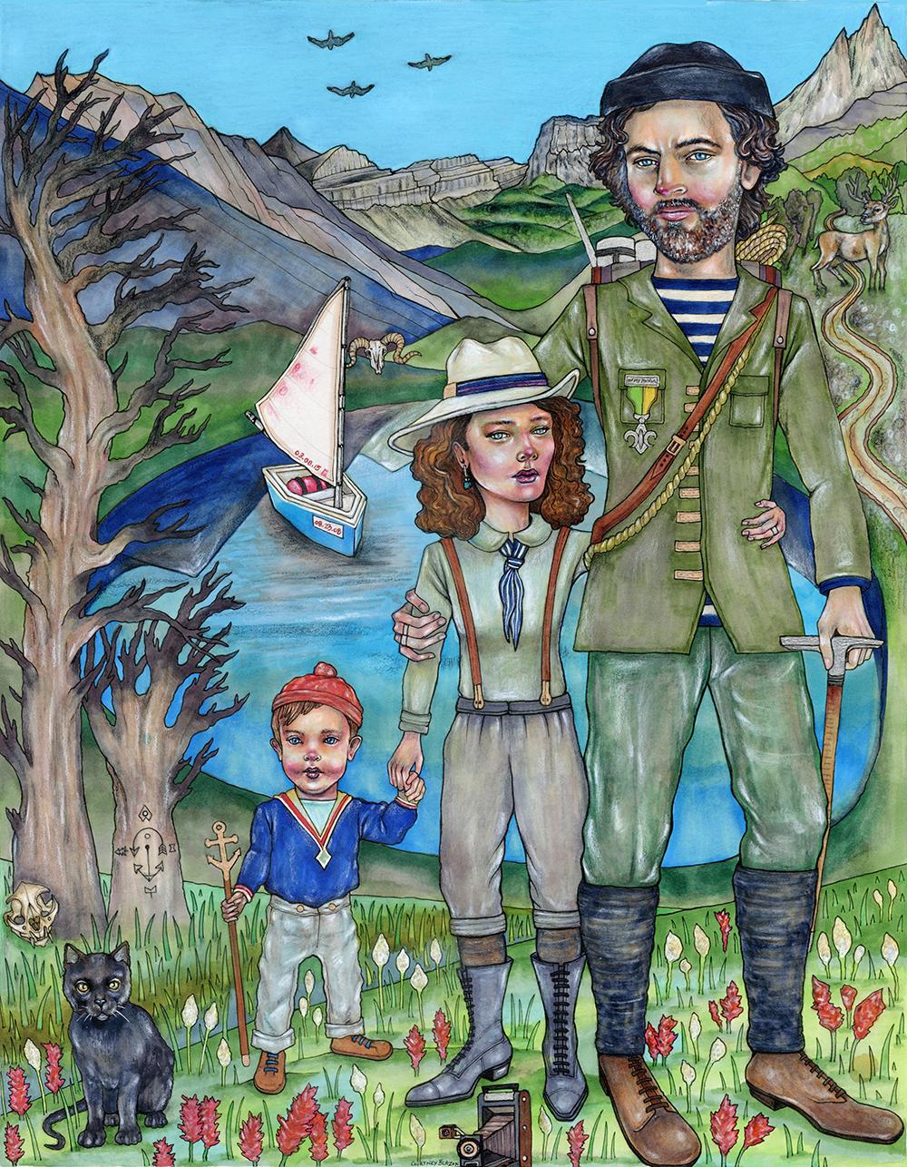 The Sailor Explorers by Courtney Blazon