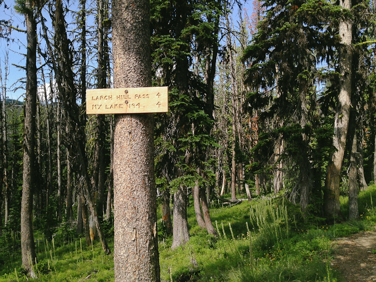 Some obscure Bob Marshall Wilderness signage