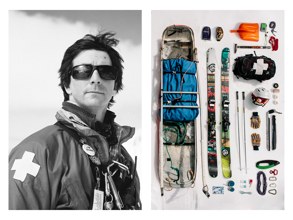 Ski Patroller : Ryan Friel by Mandy Mohler