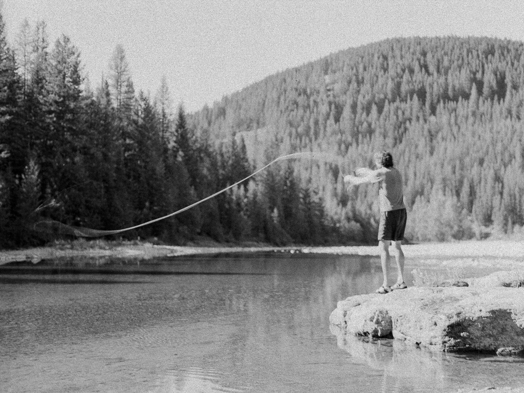 Fly Fishing the Middle Fork of the Flathead River : Artist Wilderness Connection 2012 : Mandy Mohler