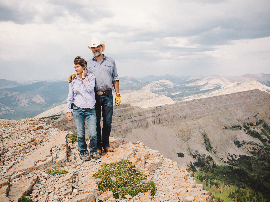 Greg and Deborah Shatz : Bob Marshall Wilderness : Prairie Reef Lookout by Mandy Mohler