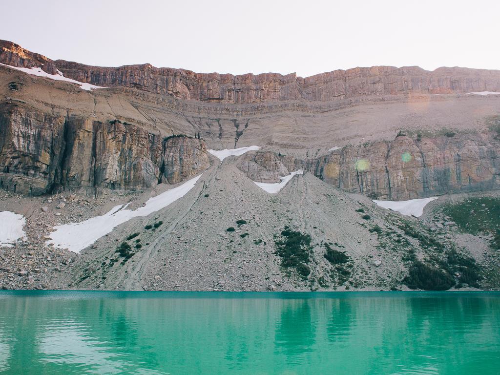 Lake LeVale, Bob Marshall Wilderness, Montana by Mandy Mohler