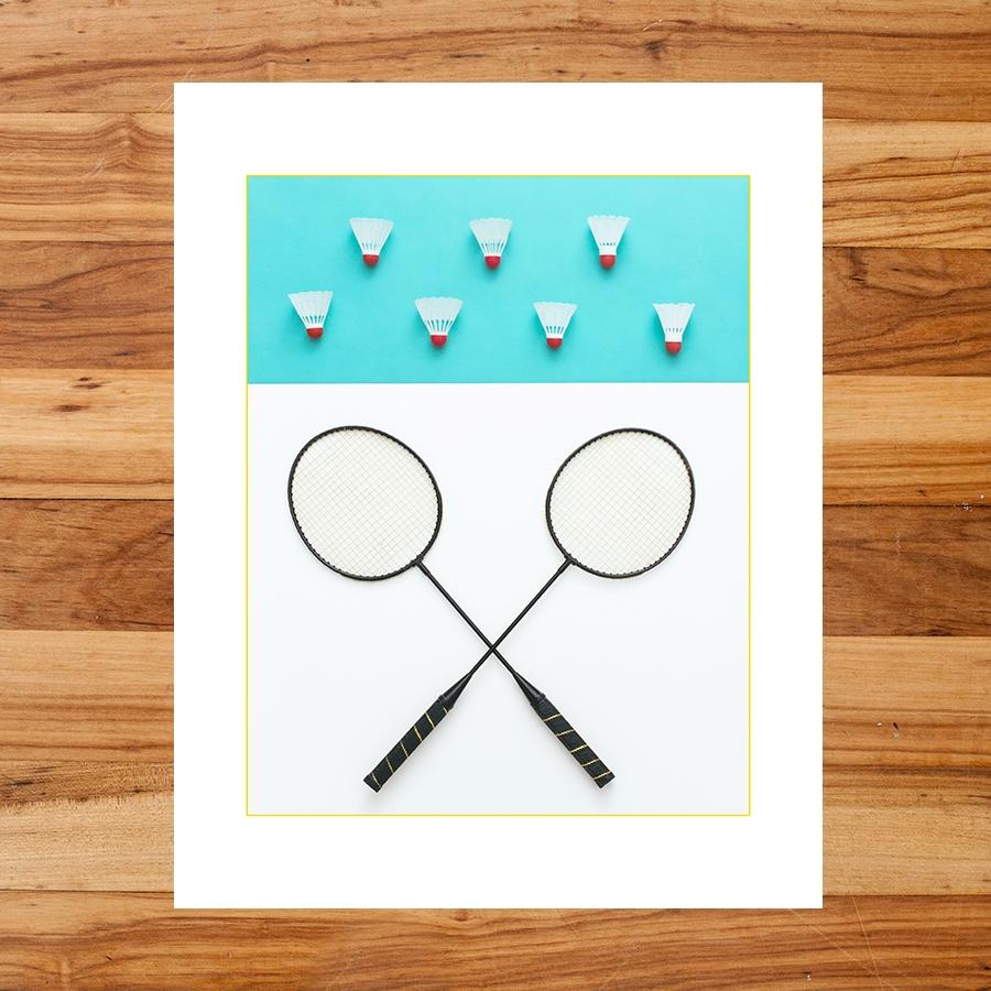 Badminton : Yard Olympics