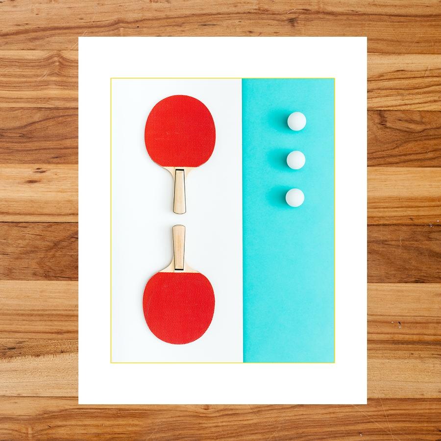 Ping Pong : Yard Olympics