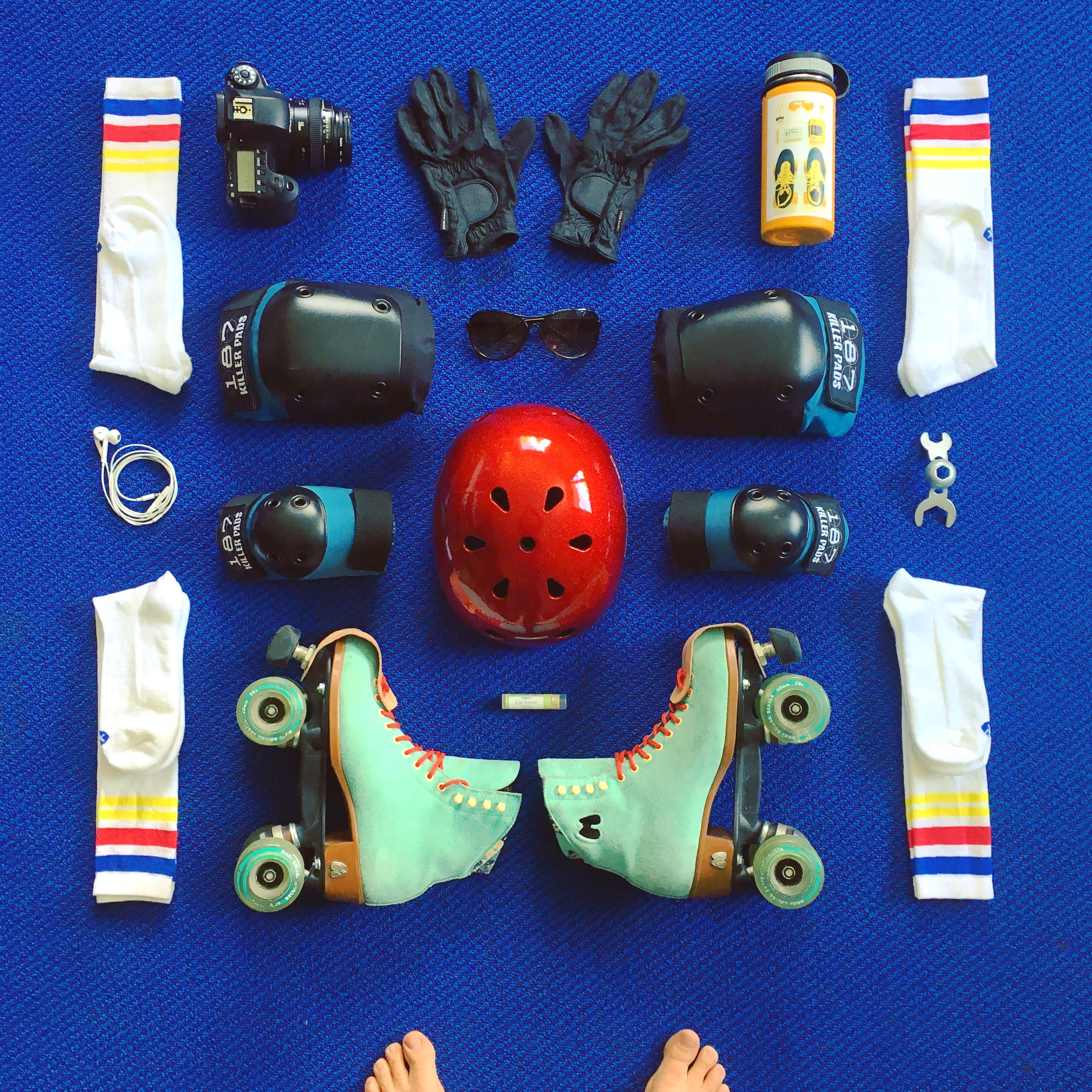 Packing for Moxi Roller Skate Camp