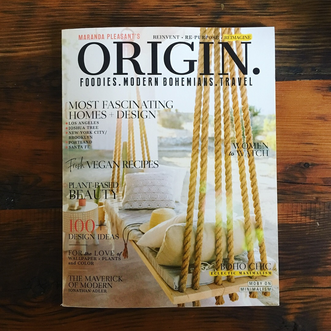ORIGIN. Magazine March 2018 Issue Featuring Mandy Mohler of Field Guide Designs