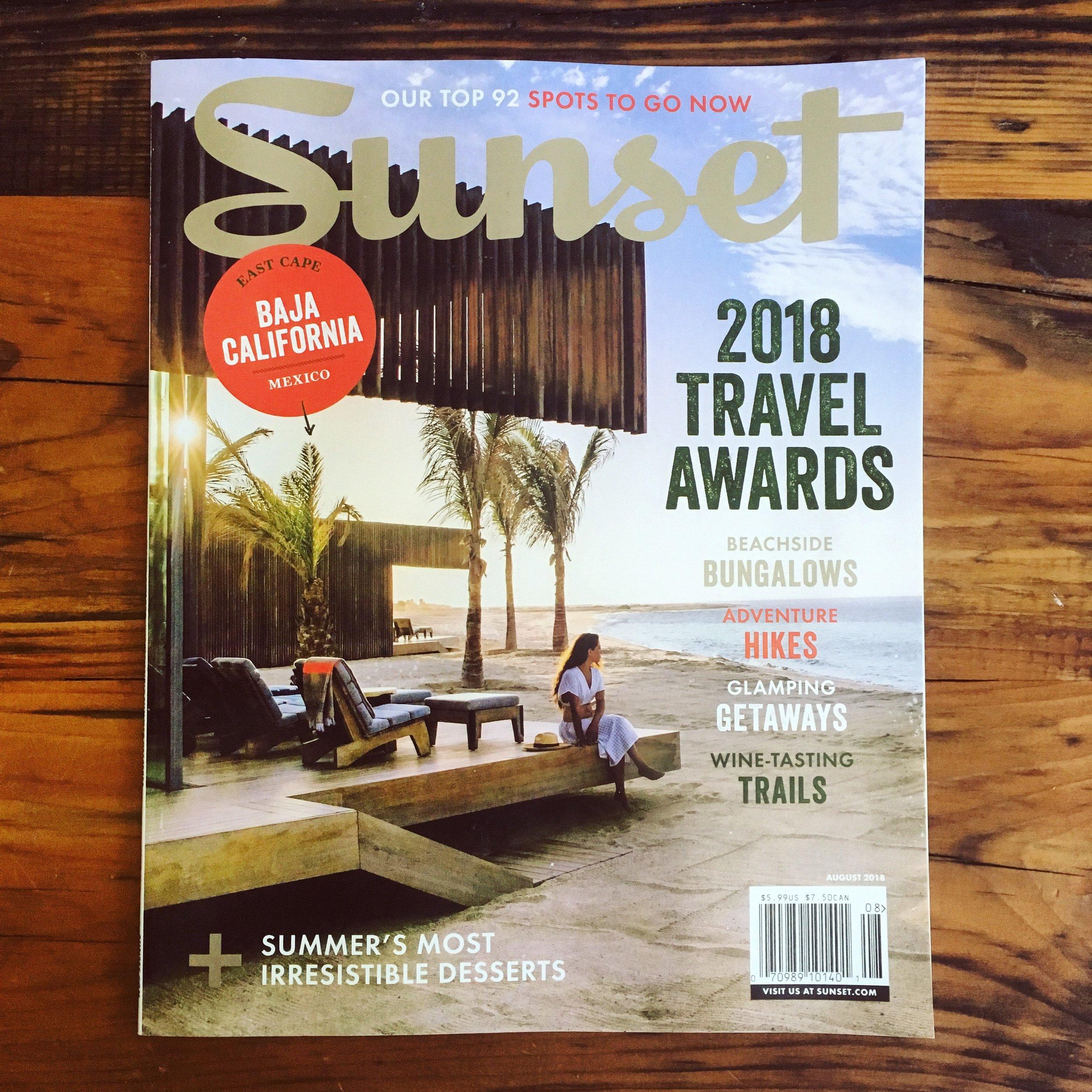 Sunset Magazine August 2018