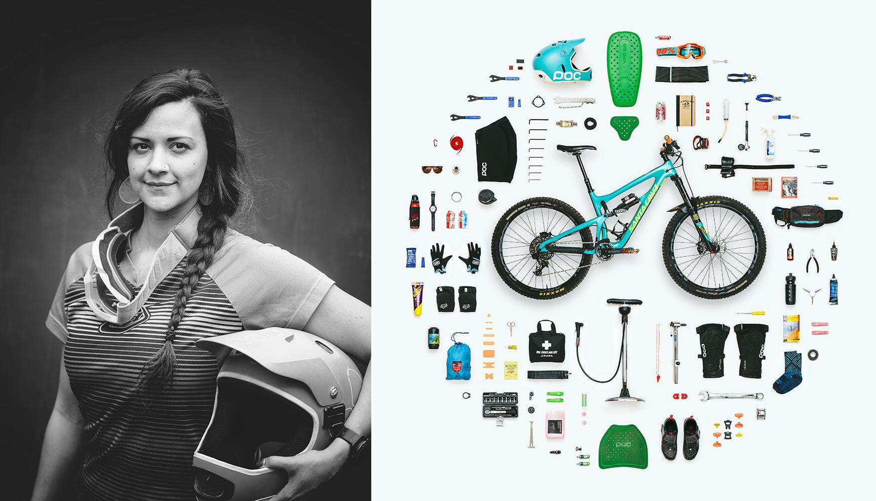 Brittani Marquand :  The Mountain Biker
