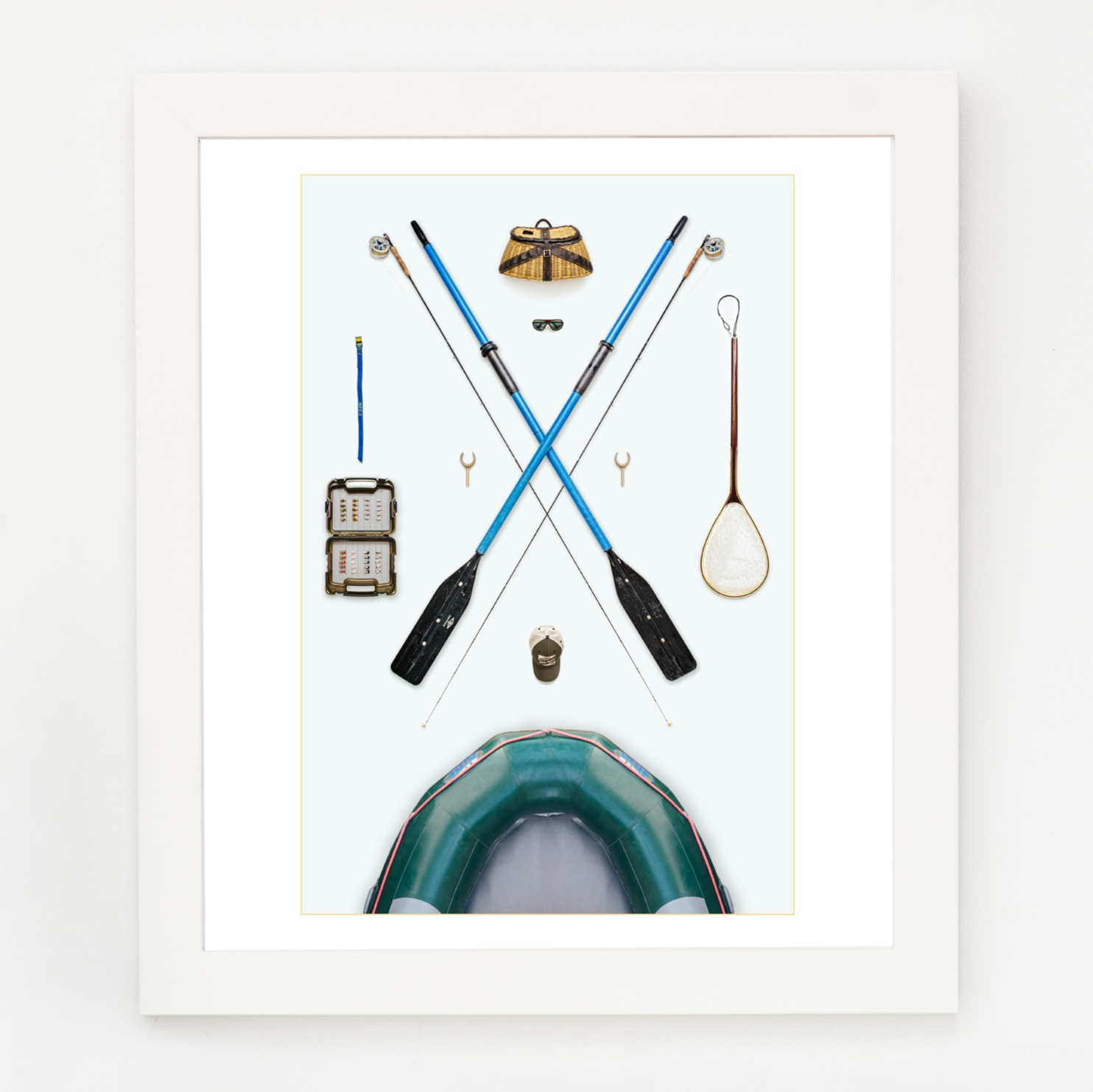 The Fly Fishing Trip  art print