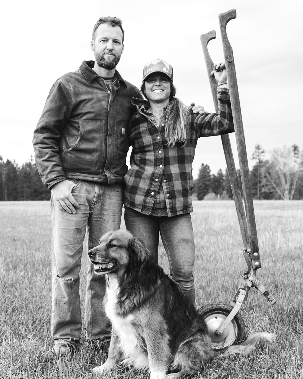 The Farmer - The Farmer print was created on site at Two Bear Farm with the help of the lovely Todd and Rebecca. Enjoy beautiful farm photos and my interview with them!