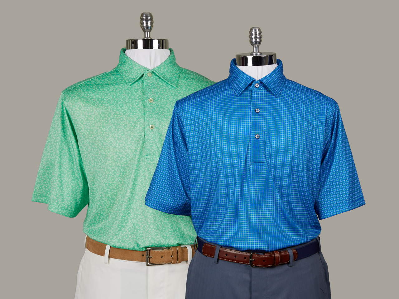 These wicking knit shirts from Donald Ross are characteristic of their entire product line -- timeless styling, long-lasting, with reliable performance components you can count on round after round.jpeg