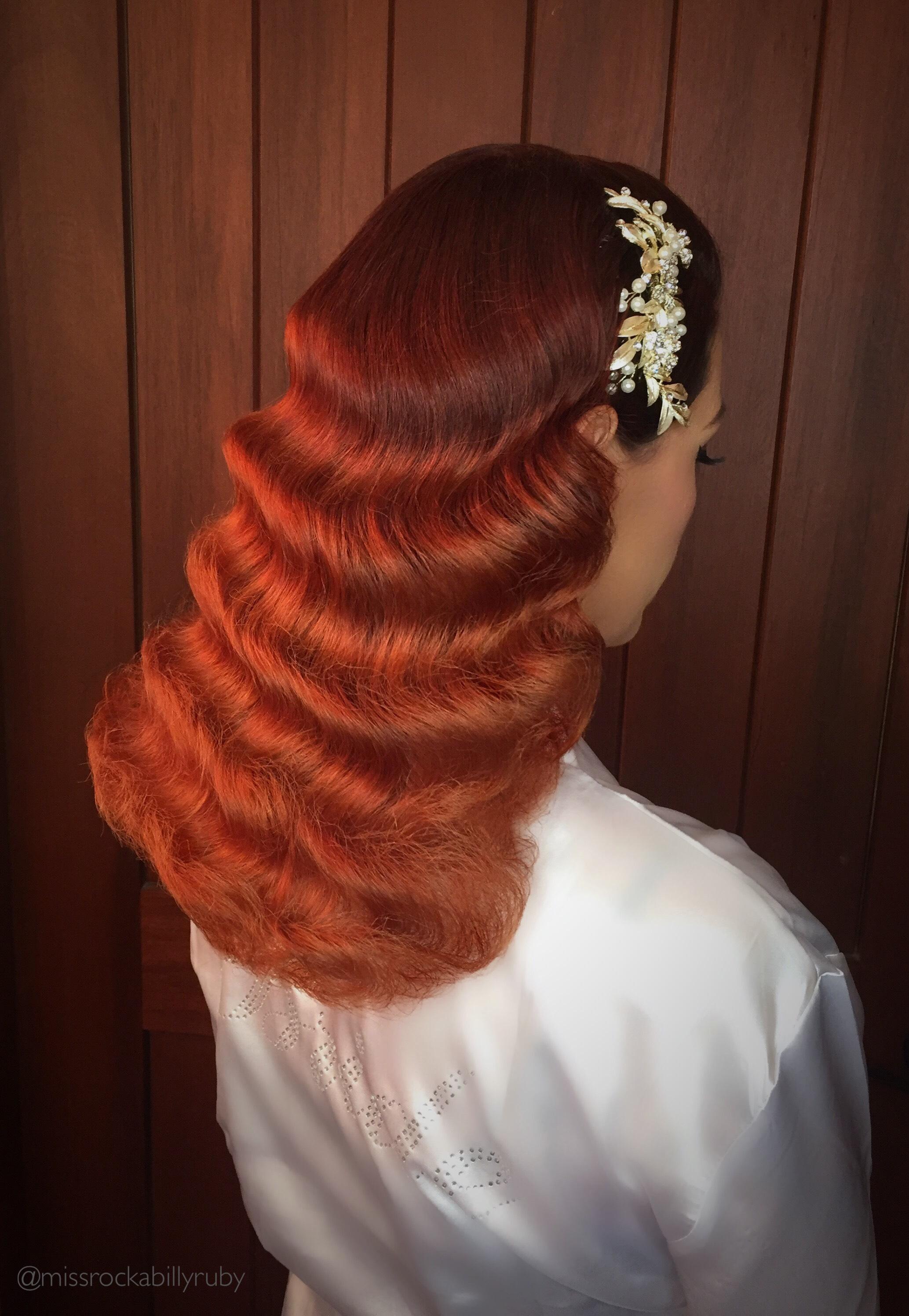 Miss Rockabilly Ruby Bridal Waves.JPG