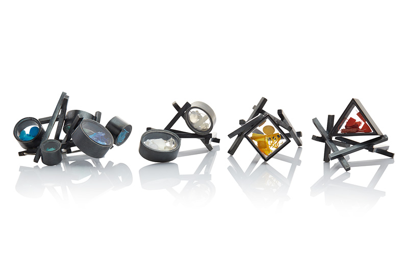 Brooch and Rings 2013