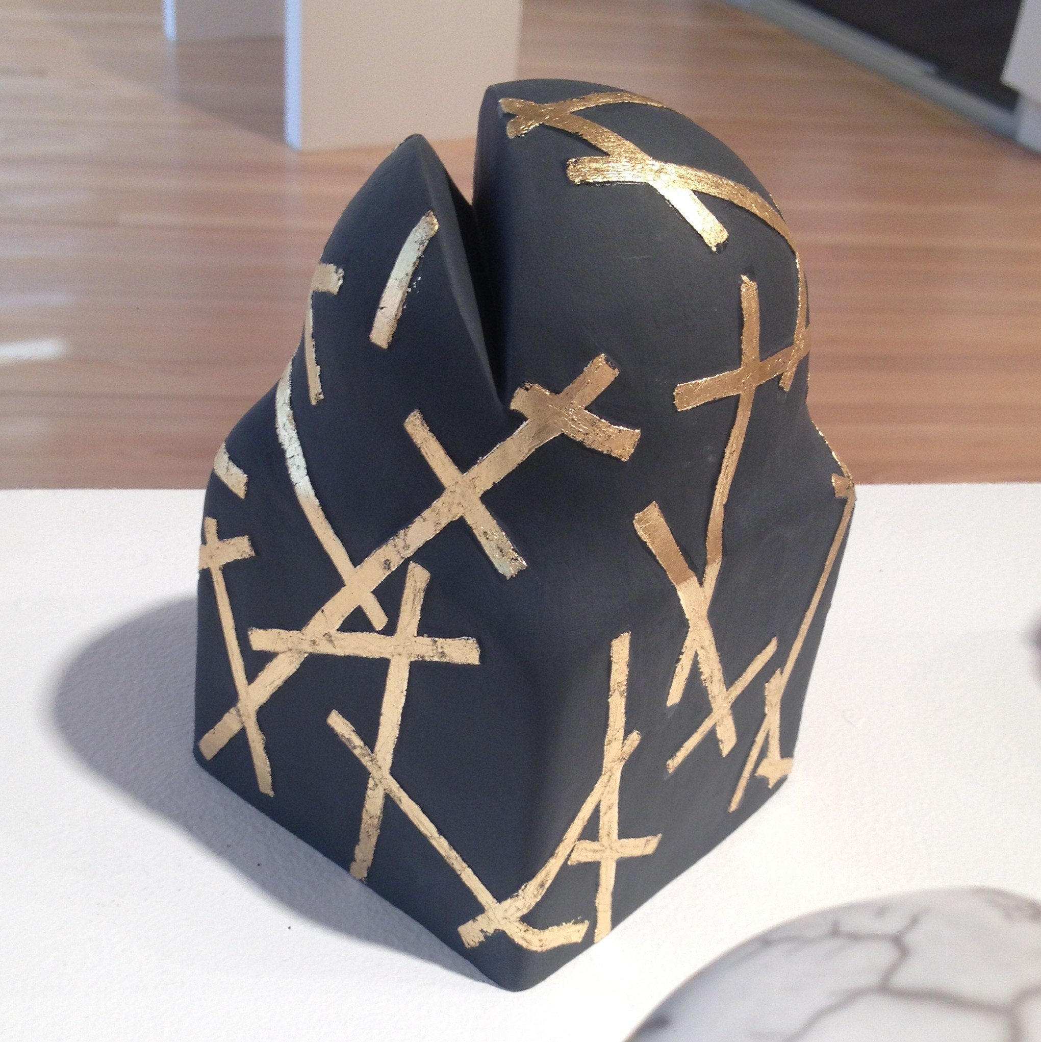 My completed FrogCake in situ at  Light Square Gallery  in Adelaide.