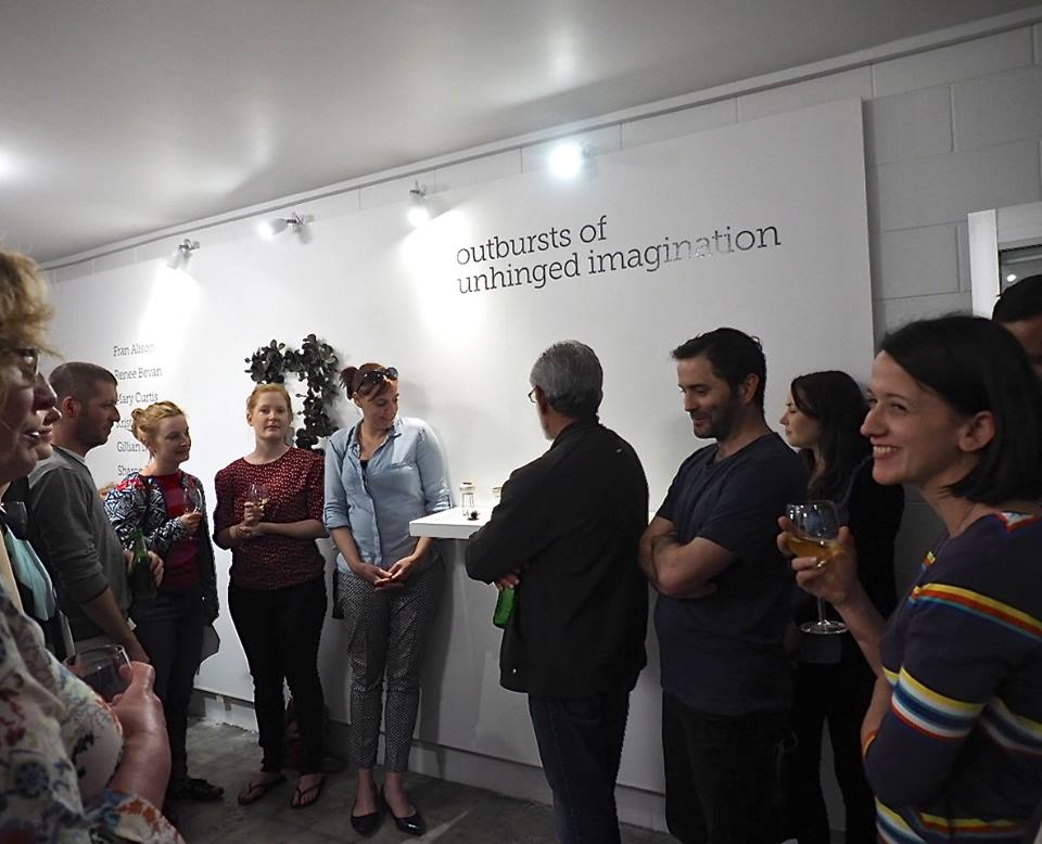 Opening night of  Lisa Furno's  awesome show in October 2015.