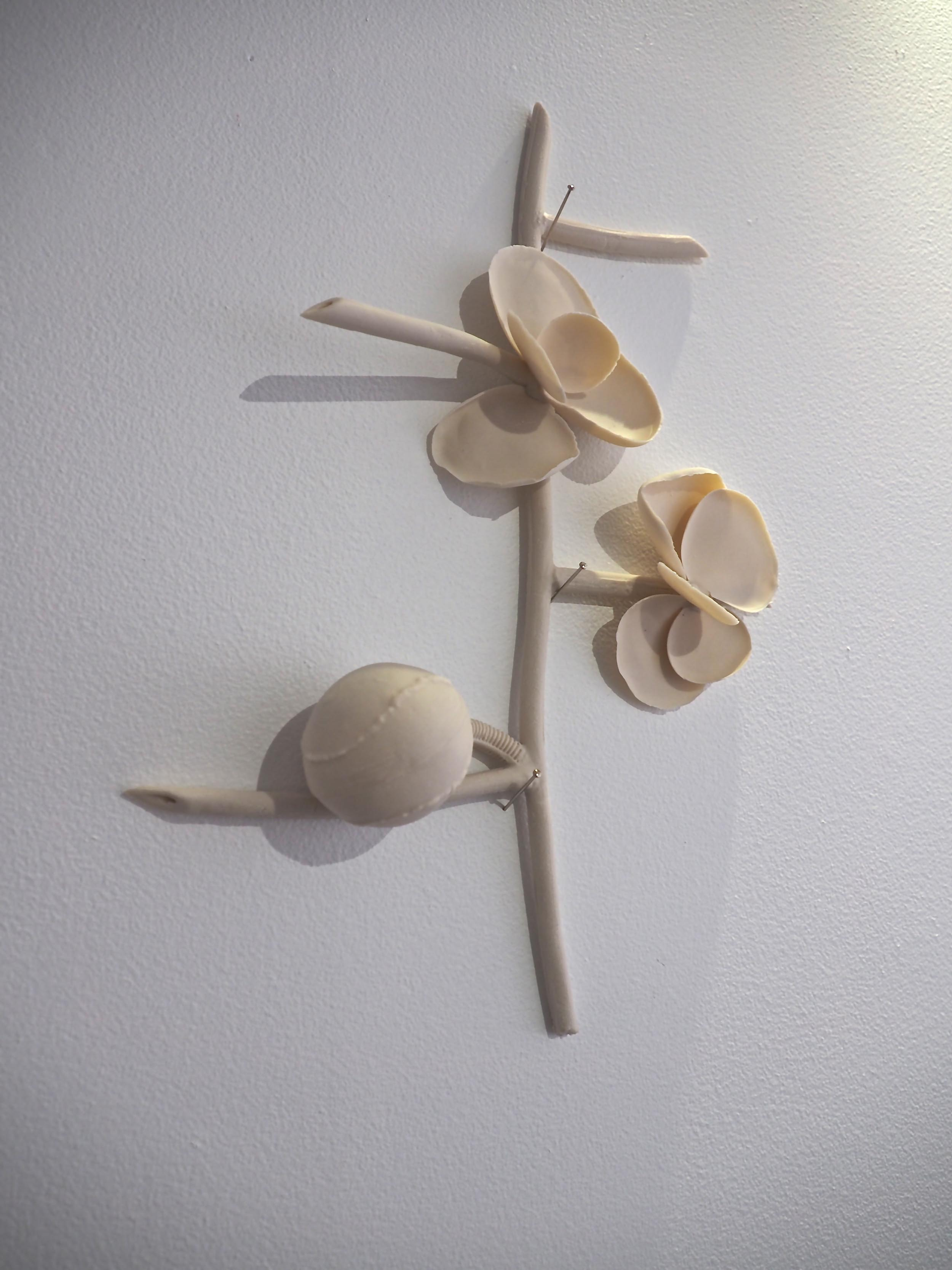 One of  Lesa Farrant's  amazing porcelain compositions. Photograph courtesy of Catherine Truman.