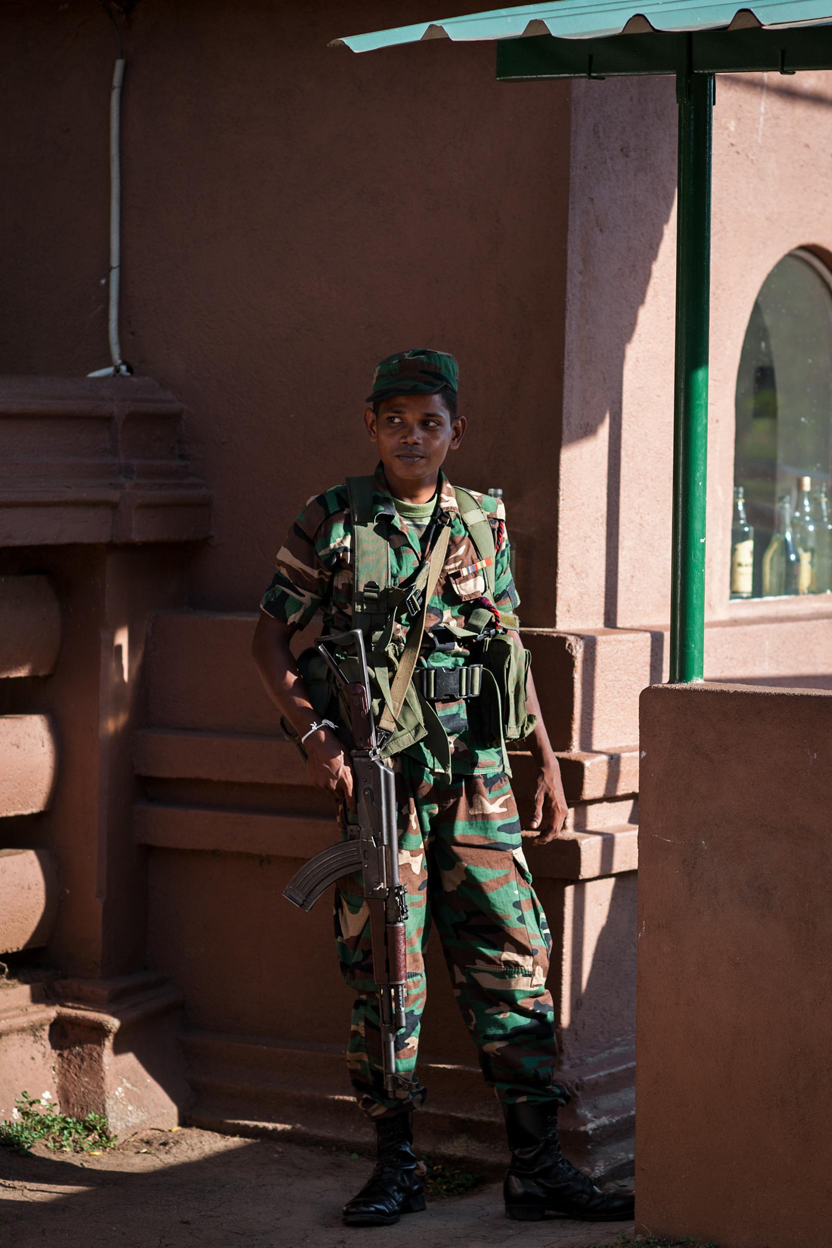 Military Soldier, Anuradhapura