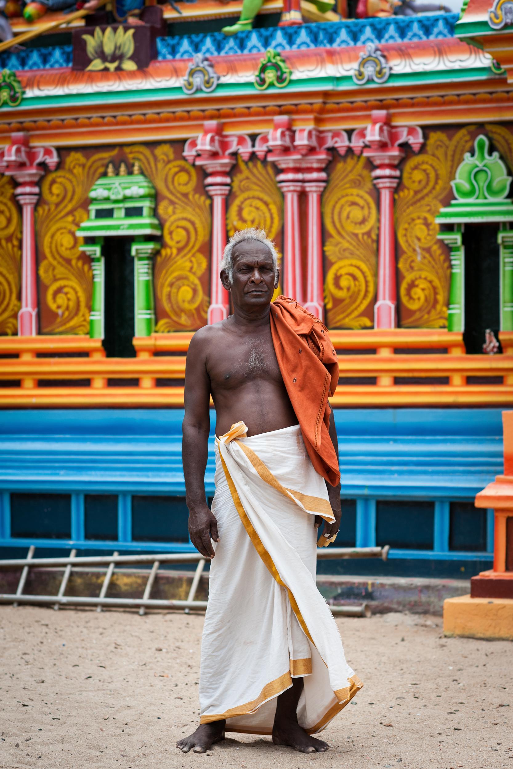 Hindu Worshipper, Trincomalee