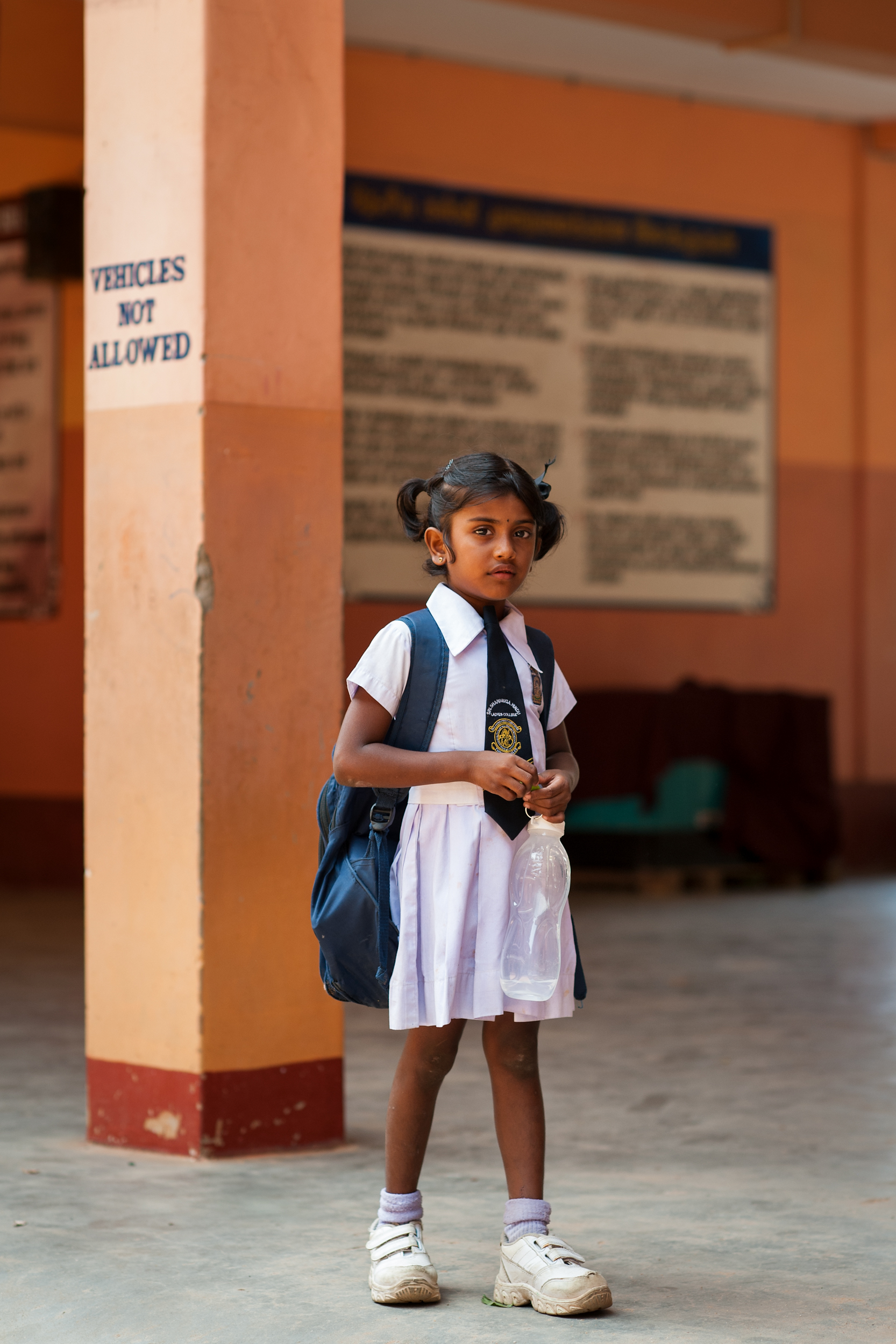 Schoolgirl, Trincomalee