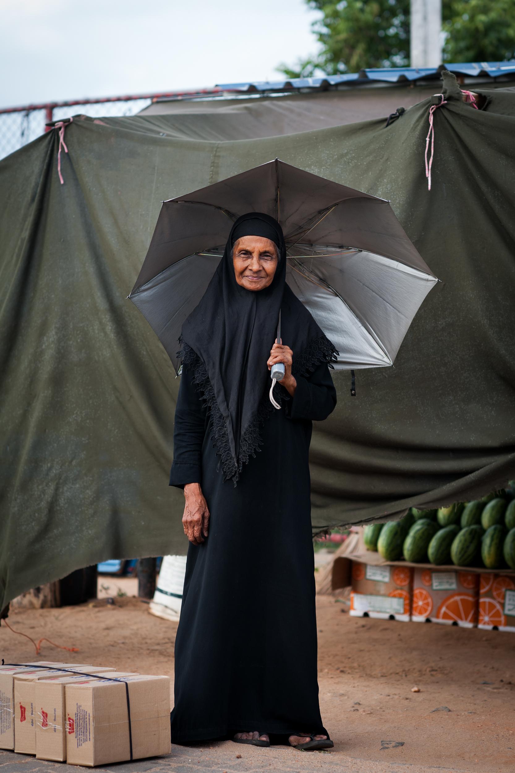 Muslim Woman, Trincomalee