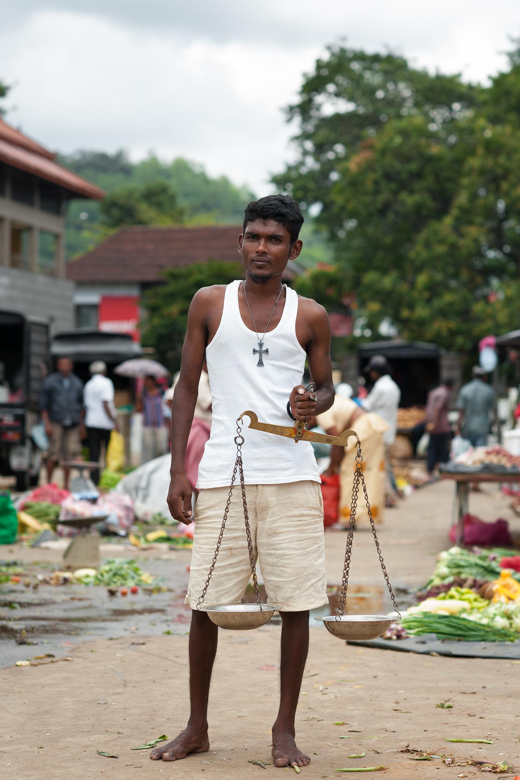 Market Salesman, Kandy