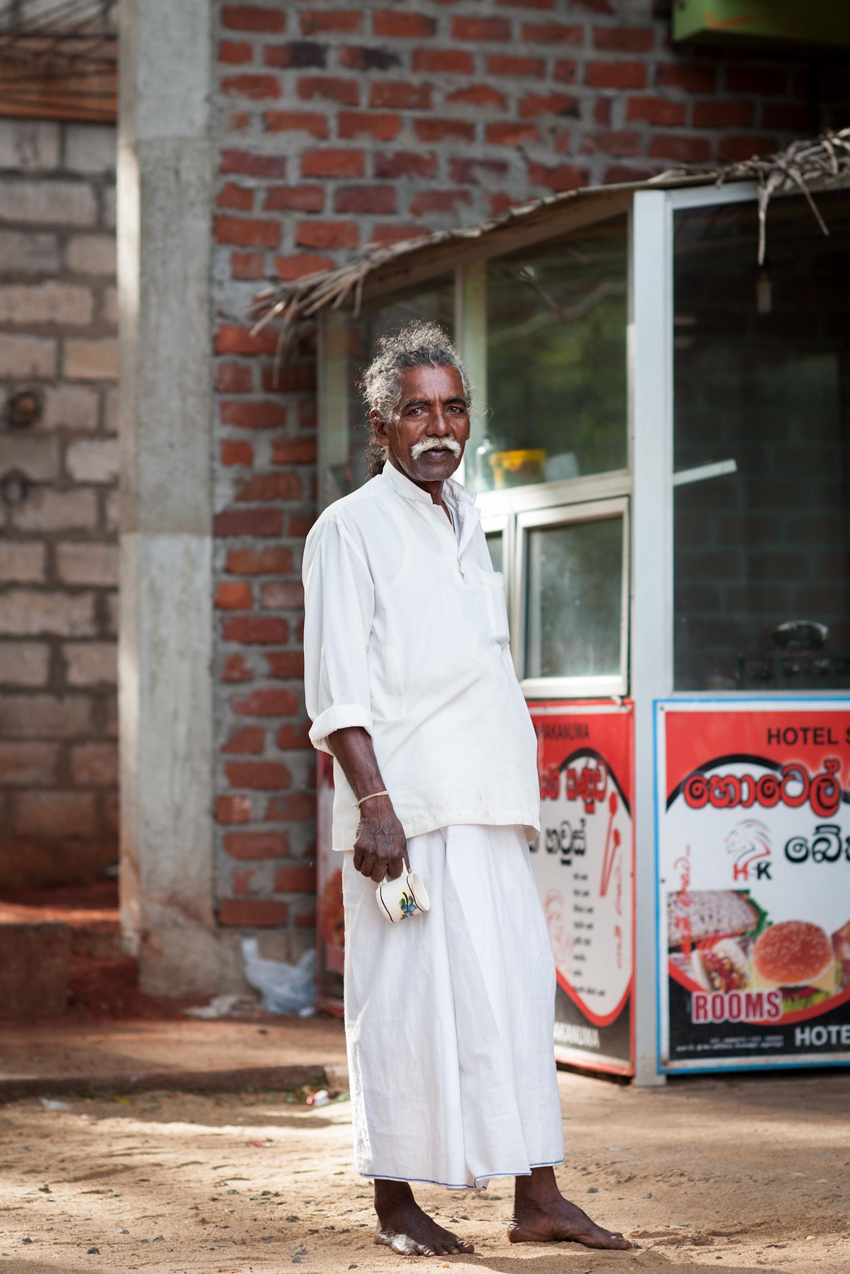 Man, Anuradhapura