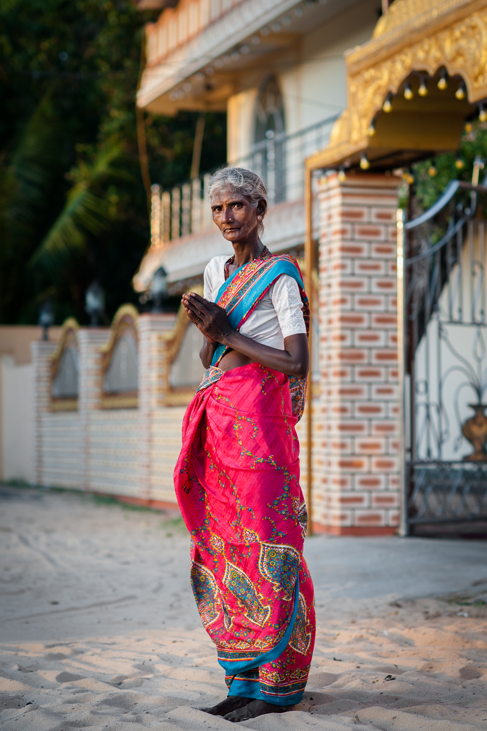 Hindu Worshipper, Jaffna