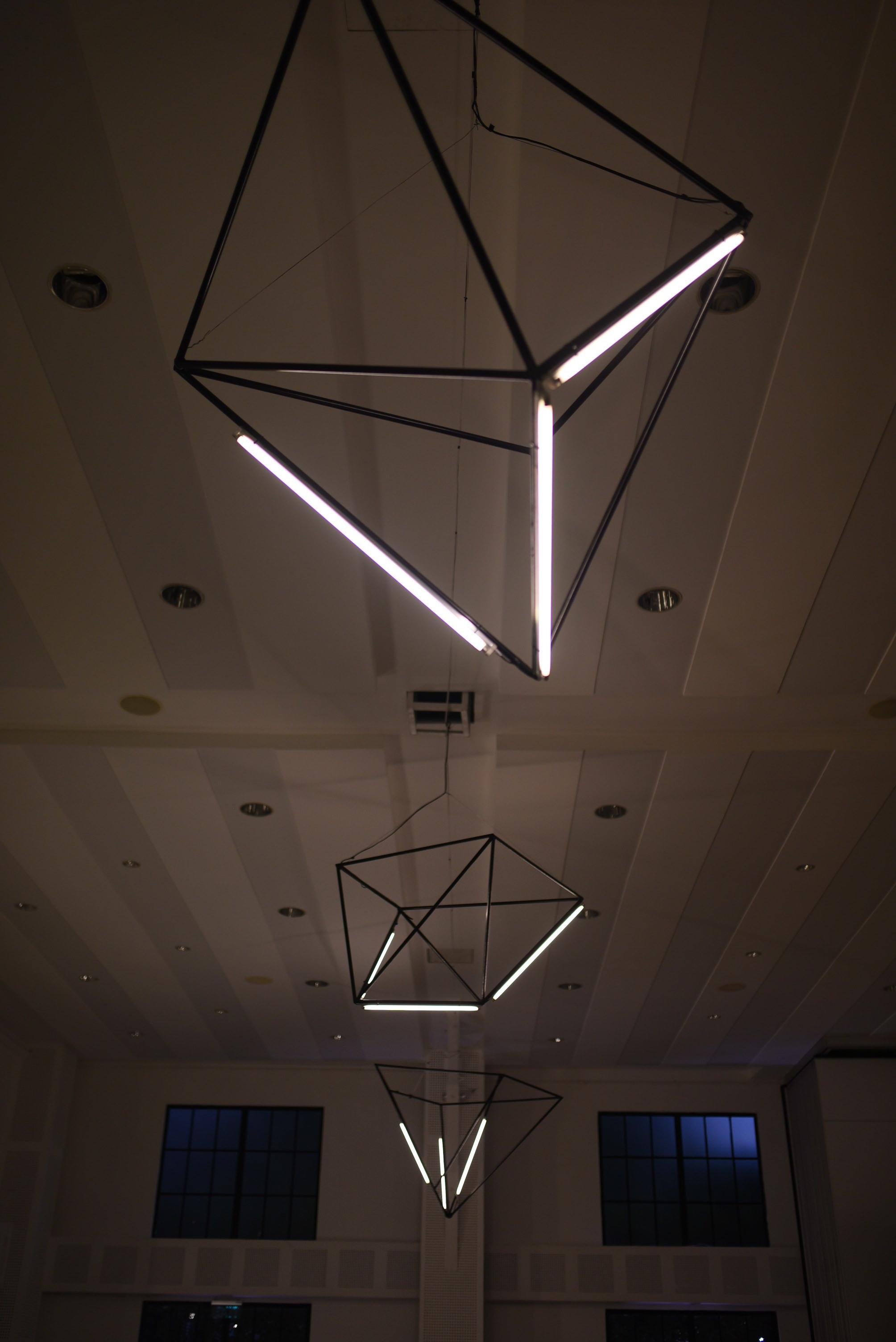 Geometric chandeliers