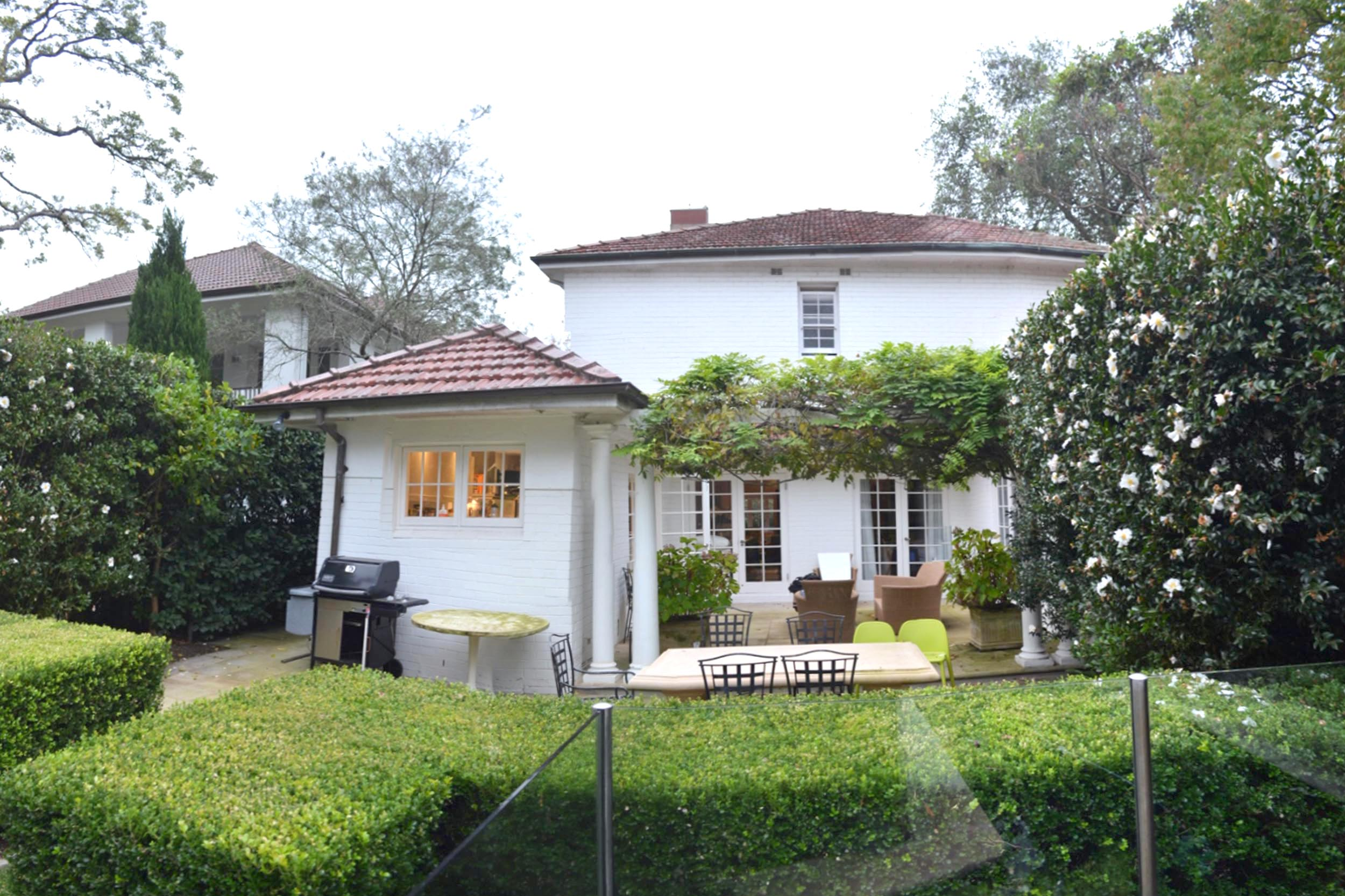THE SCULPTURE GARDEN HOUSE, WOOLLAHRA