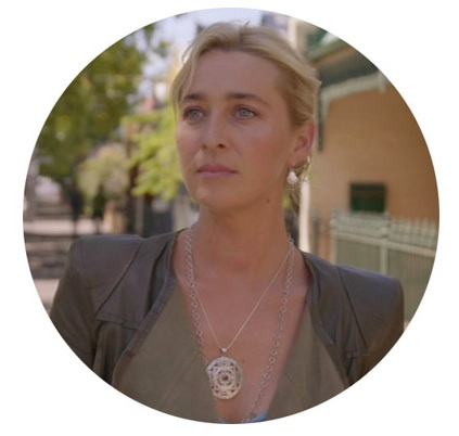 The Mandala Pendant on Season 5 Episode 11 of Channel 10's  Offspring