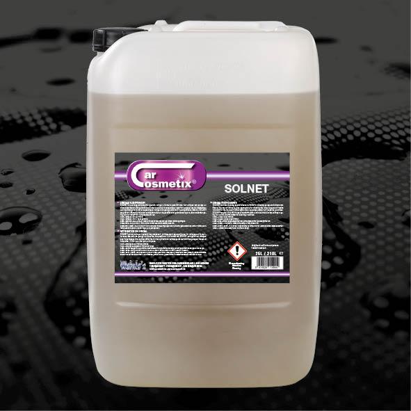 SOLNET - NL Is een laag schuimende speciale vloerreinigeruitermate geschikt voor garagevloeren.FR Est un nettoyant spécial, non-moussantpour le nettoyage du sol de garage.EN Is a low foaming special cleaner designed for garage floors.25L/210L/1000L