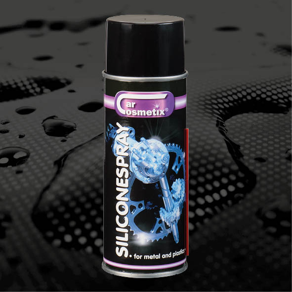 SILICONESPRAY - NL Voor het smeren en beschermen vanonderdelen in kunststof en rubber.FR Aérosol à base de silicone destiné àla lubrification et la protection descomposants en plastique ou encaoutchouc.EN Silicone spray to lubricate and protectplastic or rubber parts.400ml