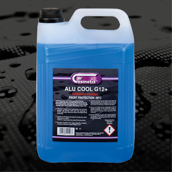 ALUCOOL G11 - NL Een koelvloeistof, gebaseerd op monoethyleenglycol en gedemineraliseerd water aaraan additives zijn toegevoegd.FR Un liquide de refroidissement, basée sur le mono-éthylène de glycol et l'eau émineralisée.EN An automotive coolant based on monoethyleneglycol and demineralized water with addition of additives.