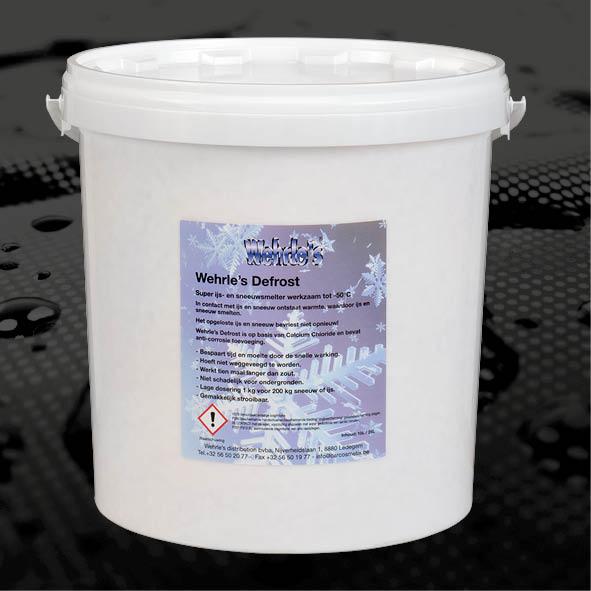 DEFROST - NL Defrost is 5x langer en 30x snellerwerkzaam in vergelijking metstrooizout.FR Comparé au sel de route, Defrostest efficace 5 fois plus longtemps etagit activement 30 fois plus vite.EN Defrost is 5x longer and 30x fasteractive in comparison to road salt.10kg/25kg