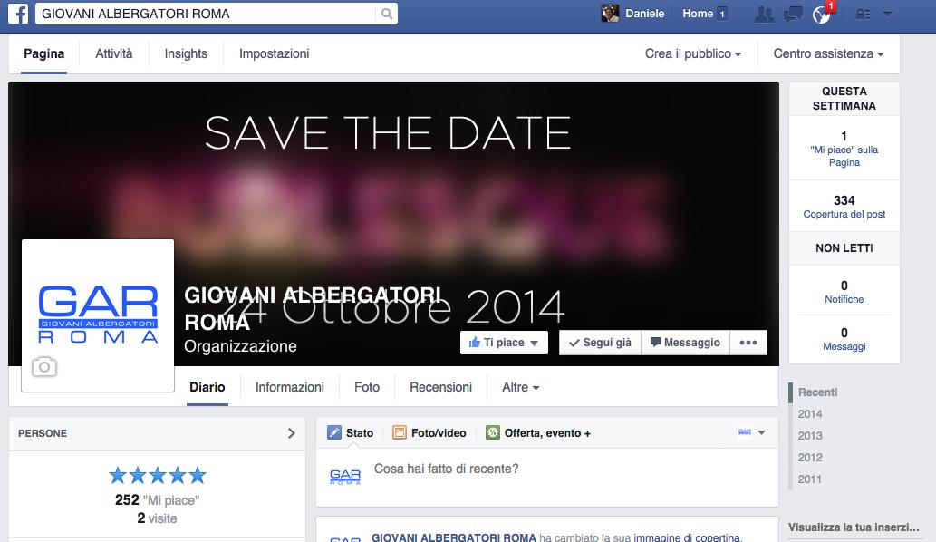 pagina gar facebook